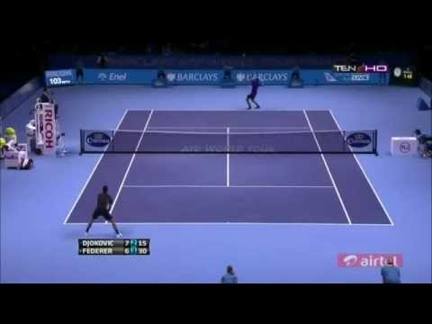 Novak Djokovic Vs Roger Federer - ATP Masters Cup London 2012 FINAL - Full Highlights 12.11.2012