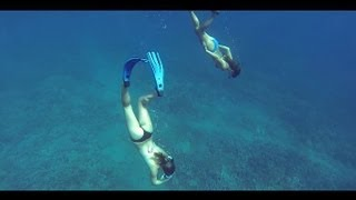 Freediving in Slo Motion GoPro Hero 3 Black Edition