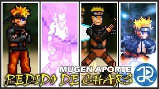 getlinkyoutube.com-(MugenCharacter): Pedido Sasuke,Naruto,MechaNaruto,NarutoFlosser3 + Link