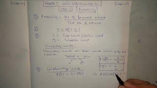 Chapter 15 Exercise 15.1 (Basics, Q1, Q2, Q3) PROBABILITY of maths class 10 || NCERT