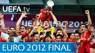 Spain v Italy: UEFA EURO 2012 final highlights
