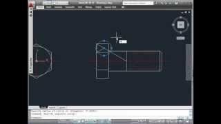 getlinkyoutube.com-AUTOCAD 2011- BUILDING A DYNAMIC HEX. SCREW BLOCK- PART1/6