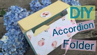getlinkyoutube.com-DIY Accordion File Folder // File flip Folder (Penpal Ideas) | I'm A Cool Mom