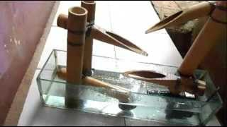 getlinkyoutube.com-Cara Membuat Air Mancur Bambu