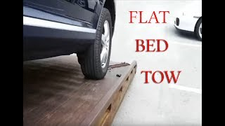 getlinkyoutube.com-Running a flat bed tow truck