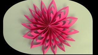 getlinkyoutube.com-كيف تصنع زينة جميلة من الورق