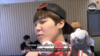 getlinkyoutube.com-BTS  Jungkook likes to tease Jimin