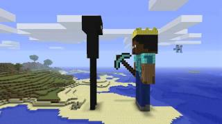 getlinkyoutube.com-Minecraft - Enderman & Herobrine