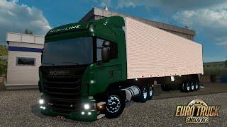 getlinkyoutube.com-Euro Truck Simulato 2 - Conjunto Scania Brasileira + baú  By Junior Morais
