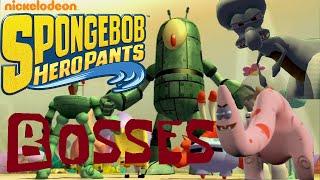 getlinkyoutube.com-SpongeBob HeroPants - All Bosses ᴴᴰ