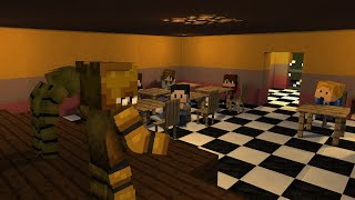 "getlinkyoutube.com-""FredBear's Family Diner"" - (Minecraft FNAF Animation)"