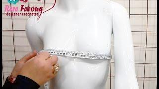 getlinkyoutube.com-كيفيه اخذ مقاسات الجسم بطريقه صحيحه | خيط وابره |  HOW TO TAKE THE BODY MEASUREMENTS