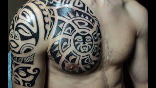 getlinkyoutube.com-Tribal Tattoo Designs 2015