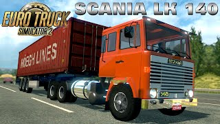 getlinkyoutube.com-Euro Truck Simulator 2 mod SCANIA LK 140 V8