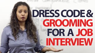 getlinkyoutube.com-Dress code & Grooming tips for a job Interview - Free Spoken English Lessons