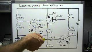 getlinkyoutube.com-Push On - Push Off Transistor Switch