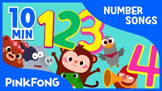 getlinkyoutube.com-1 to 10 | Number Songs | + Compilation | PINKFONG Songs for Children