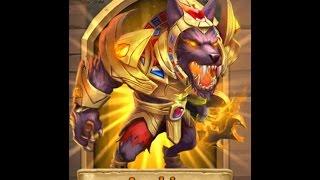 #142 Castle clash Devo anubis and GAMEPLAY ON RAID