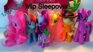 getlinkyoutube.com-MLP Sleepover! (1,000 Sub Special)