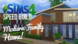getlinkyoutube.com-The Sims 4 Speed Build — Modern, Family Home