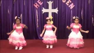 getlinkyoutube.com-Neerantri naanillai, Tamil Christian Video, Dance by KBS Children, Word of God Church, Doha Qatar