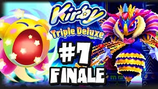getlinkyoutube.com-Kirby Triple Deluxe 3DS - (1080p) Part 7 FINALE - Royal Road FINAL BOSS & Extra Stages