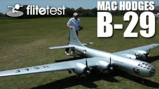 getlinkyoutube.com-Flite Test - Mac Hodges B-29 - REVIEW