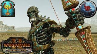 SNIPER GIANTS - Tomb Kings vs. Norsca - Total War Warhammer 2 Gameplay