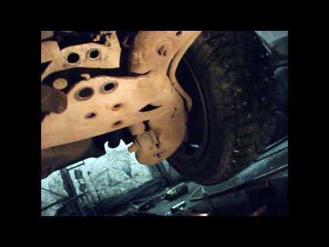 Замена сйлентблоков задней балки VOLVO S70