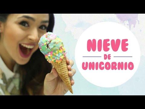 NIEVE DE UNICORNIO (3 INGREDIENTES) - BAKING DAY