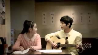 getlinkyoutube.com-Bogum (박보검)  with IU - Nongshim Slurp Noodles CF