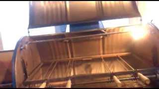 parrilla tambor - spiedo giratorio