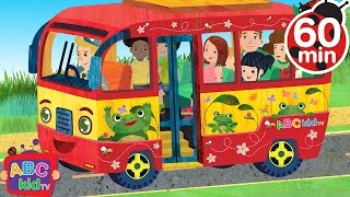 getlinkyoutube.com-Wheels on the Bus and More Nursery Rhymes - ABCkidTV