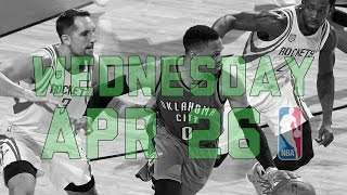 NBA Daily Show: Apr. 26 - The Starters