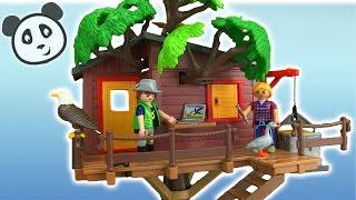getlinkyoutube.com-Playmobil Abenteuer Baumhaus - Spielzeug ausgepackt & angespielt - Pandido TV