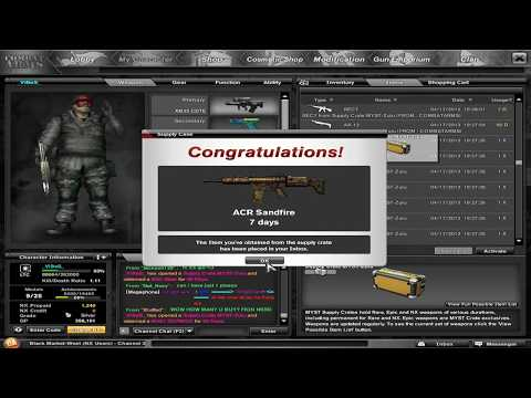 Combat Arms | Opening 100 Myst Zulu Supply Cases