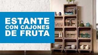 getlinkyoutube.com-¿Cómo hacer un estante con cajones de fruta?
