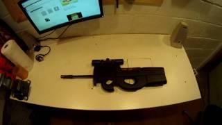 P90 Conversion Ruger 10/22 How to make a Sub Machine Gun