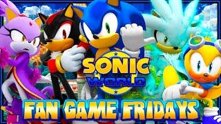 getlinkyoutube.com-Fan Game Fridays - Sonic World Playthrough