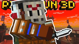 getlinkyoutube.com-MANIAC KNIFE ONLY PARTY!! | Pixel Gun 3D
