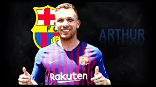 ARTHUR | WELCOME TO BARCELONA! | Goals, Skills, Assists | 2017