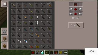 getlinkyoutube.com-[NEW MOD!]GUNS MOD!+INSTALL Minecraft PE v0.11+