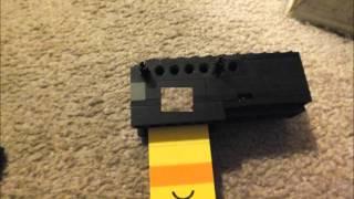 getlinkyoutube.com-How to Make a Mini Lego Pistol That Shoots (Bolt-Action)