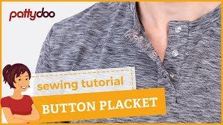getlinkyoutube.com-How to sew a press button placket