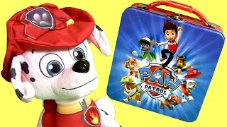 getlinkyoutube.com-Paw Patrol Lunchbox Surprise Play-Doh Lego Thomas Simpsons ToyStory MLP LionKing Frozen Fashems