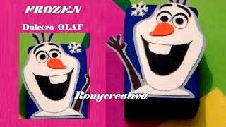 getlinkyoutube.com-COMO HACER A OLAF (FROZEN) - DULCERO DE FOAMY / FROZEN PARTY OLAF DIY