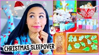 getlinkyoutube.com-What To Do On Christmas! :Decor, Treats, Outfit + More for a DIY Holiday Sleepover!