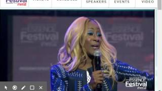 "Le'Andria Johnson ""Holy Ghost"" Kim Burrell Tribute"