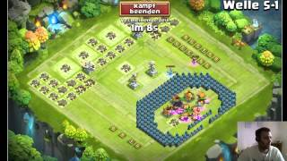 getlinkyoutube.com-CC #319 Welle S farmen: Neue Base by Hunted Castle Clash / Schloss Konflikt