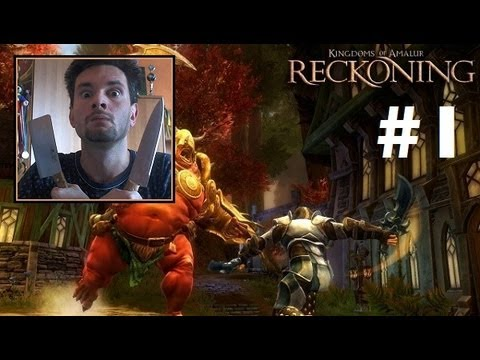 Kingdoms of Amalur: Reckoning #1 - Tworzenie postaci (Roj-Playing Games!)